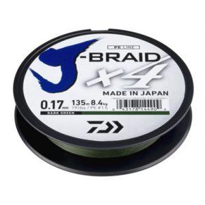 DAIWA - J-Braid X4 Yellow 135m