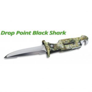 SPORASUB - Drop Point Black Shark