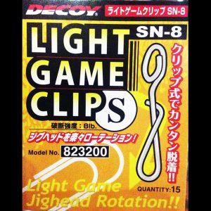 DECOY - Light Game Clip SN-8