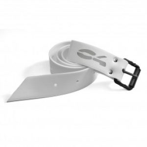 C4 - Cintura Marsigliese Fibbia Nylon Nera Bianca
